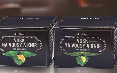Vosky Liftea na vousy a knír