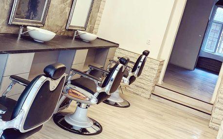 Pánský střih včetně holení v Syndicate BarberShop & Lounge na Vinohradech