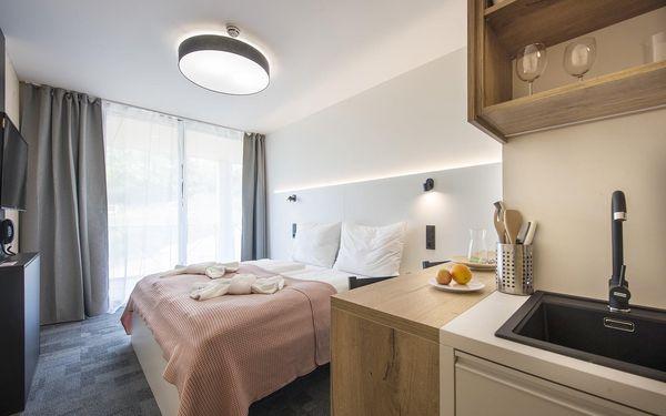 Jednopokojový apartmán - pobyt se snídaní | 2 osoby | 3 dny (2 noci) | Období St 9. 12. 2020 – Čt 28. 1. 2021, Ne 7. 3. – St 30. 6. 2021, St 1. 9. – Út 21. 12. 20214
