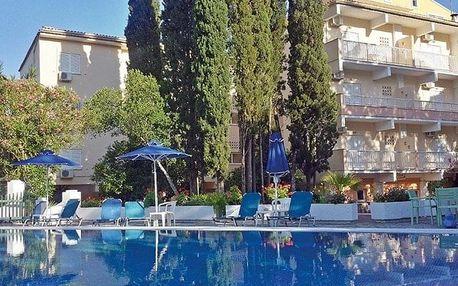 Řecko - Korfu letecky na 8-15 dnů, snídaně v ceně