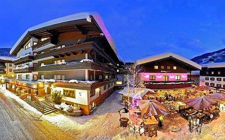 Rakousko - Saalbach - Hinterglemm na 8 dnů, polopenze