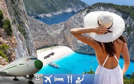 Řecko - Zakynthos letecky na 8 dnů, polopenze