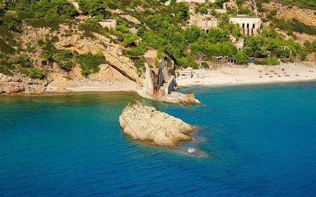 Řecko - Thassos autobusem na 12-15 dnů