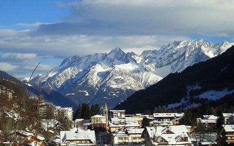 5denní lyžování Aprica, Posta Hotel, doprava, skipas a polopenze v ceně