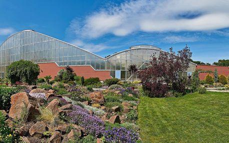 Vstupenky i permanentka do Botanické zahrady Teplice