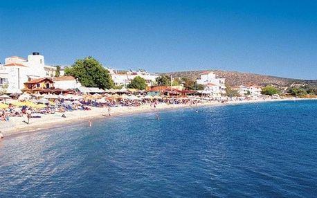 Řecko - Thasos autobusem na 12-15 dnů