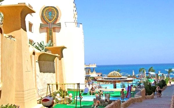 Hotel Sphinx Aqua Park Beach Resort, Hurghada, Egypt, Hurghada, letecky, all inclusive2