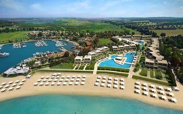 Sani Dunes Hotel, Chalkidiki, Řecko, Chalkidiki, letecky, polopenze2