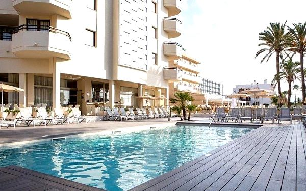 Sabina Playa, Mallorca, Španělsko, Mallorca, letecky, polopenze2