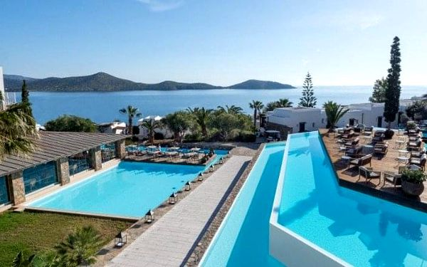 Hotel Aquila Elounda Village, Kréta, Řecko, Kréta, letecky, polopenze2