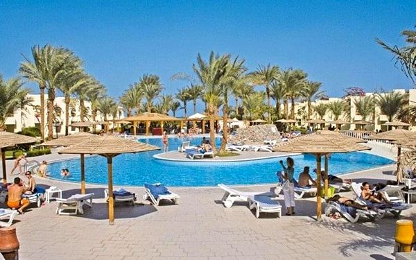 EUROTEL PALM BEACH, Hurghada, Egypt, Hurghada, letecky, all inclusive2