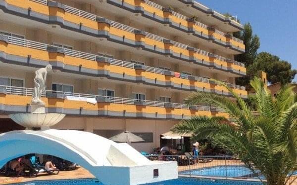 Seramar Sunna Park, Mallorca, Španělsko, Mallorca, letecky, polopenze5