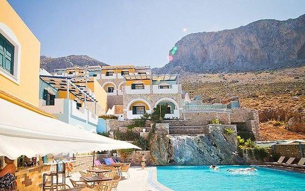 Řecko - Kalymnos letecky na 8-22 dnů, snídaně v ceně