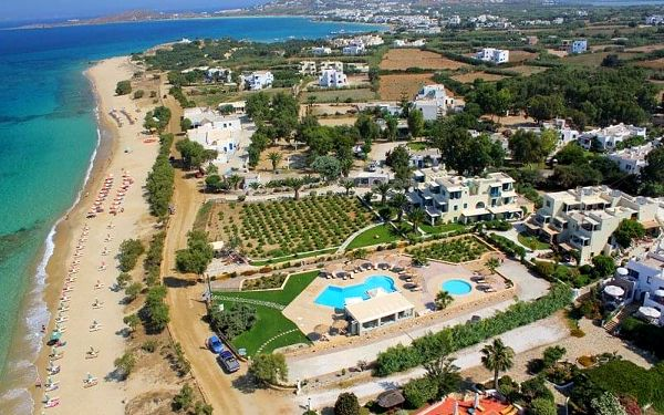 Paradiso, Naxos, Řecko, Naxos, letecky, snídaně v ceně5