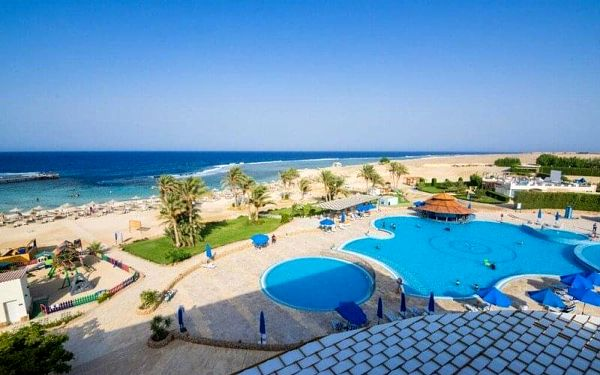 CONCORDE MOREEN BEACH RESORT, Marsa Alam, Egypt, Marsa Alam, letecky, all inclusive