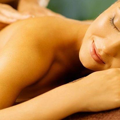 Výběr ze 4 druhů masáží: čokoládová či aroma