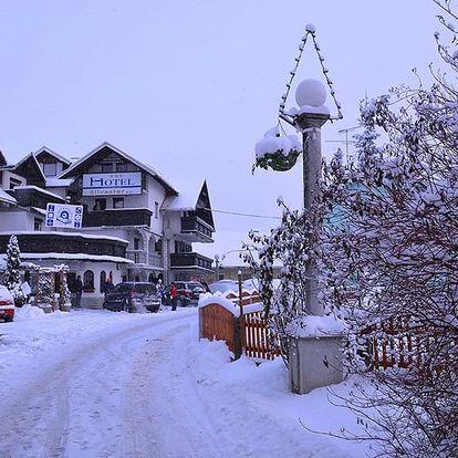 5denní lyžování Krvavec, Hotel Silvester, doprava, wellness, polopenze a skipas v ceně