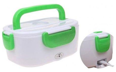 Elektrická krabička na jídlo zelená