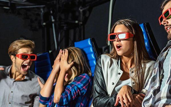 Až 4 lístky na libovolný film v 5D Cinema Maxim