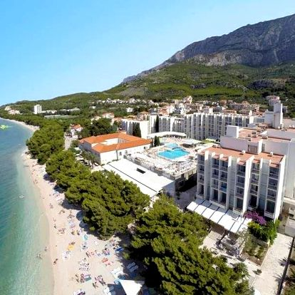 Chorvatsko - Tučepi na 5 dnů, polopenze