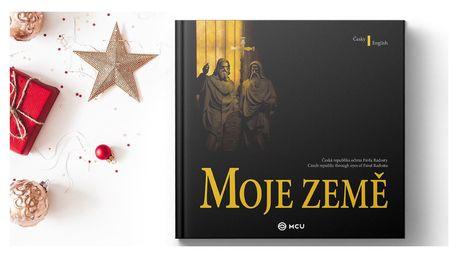 Česko-anglická fotografická kniha Moje země