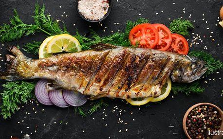 Vouchery do Rybářské Bašty: rybí speciality i nápoje