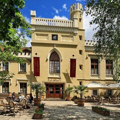 2 noci na zámku Chateau St. Havel pro dva