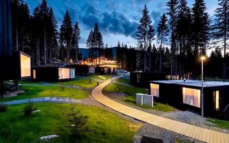 Pobyt v Björnson Tree Houses s wellness