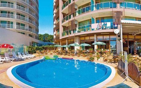 Bulharsko - Slunečné pobřeží na 8-16 dnů, snídaně v ceně