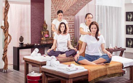 Thajská masáž pro dva Praha