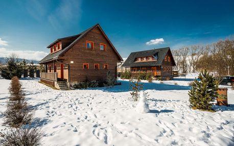 Sojka resort v zimě na Liptově pro 6 osob