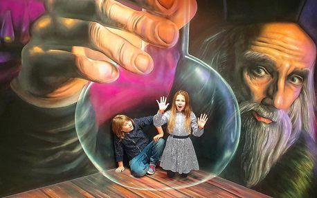 Muzeum fantastických iluzí: 2× větší než dříve