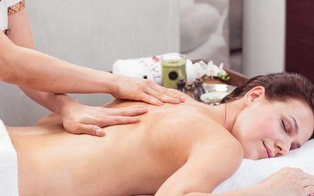 Arganová masáž
