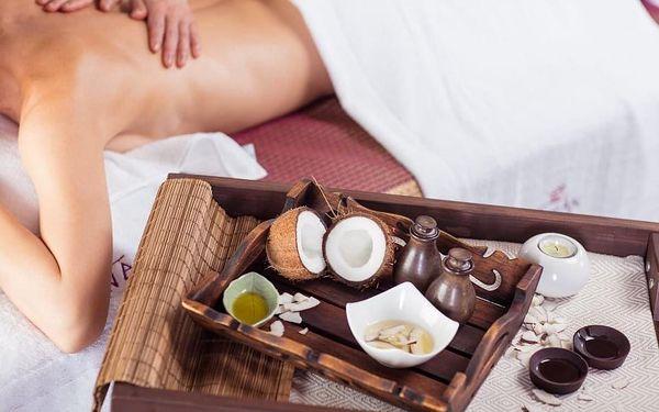 Kokosová masáž