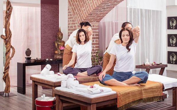 Thajská masáž pro dva Praha4