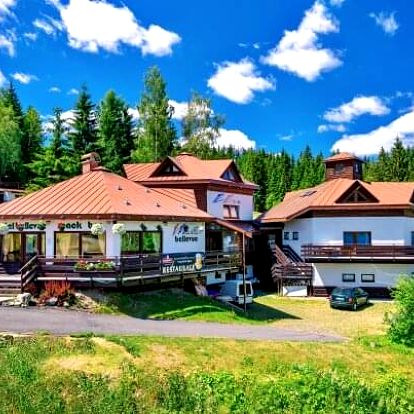 Krkonoše: Jaro a léto ve Sport Hotelu Bellevue K-180 *** s polopenzí, wellness, procedurami a vstupem do muzea