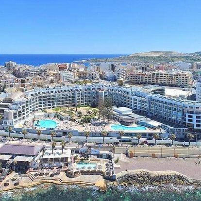 Malta letecky na 8 dnů, snídaně v ceně