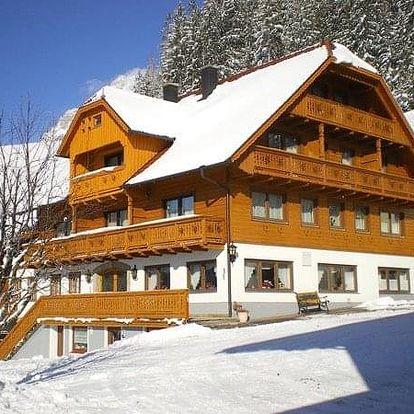 Rakousko - Schladming - Dachstein na 8 dnů, snídaně v ceně