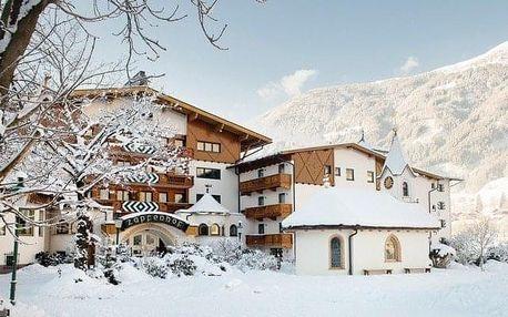 Rakousko - Zillertal na 8 dnů, polopenze
