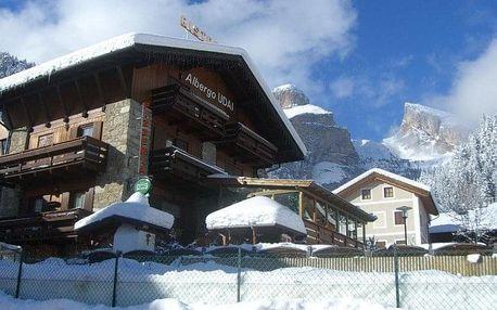 Itálie - Val di Fassa e Carezza na 8 dnů, polopenze
