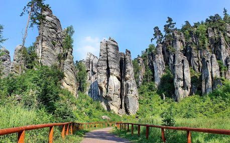 Dokonalá relaxace v Českém ráji se vstupem do Císařských lázní a polopenzí
