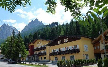 Itálie - Val di Fassa e Carezza na 8 dnů, snídaně v ceně