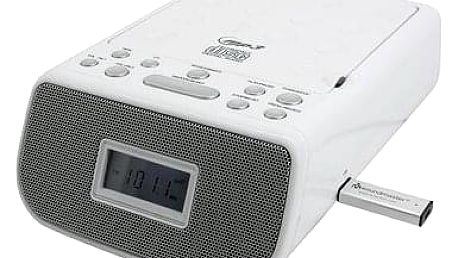 Soundmaster URD860WE - radiobudík a CD přehrávač