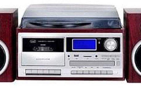 Radiomagnetofon a CD přehrávač Trevi TT 1070 E/WD