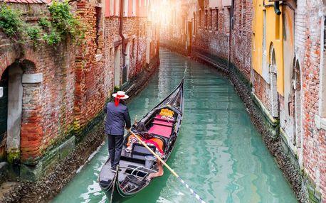 Víkendový výlet do Benátek s možností vyplout na ostrovy Murano a Burano