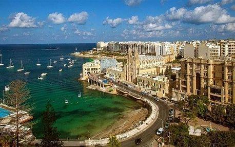 Malta - St. Julian letecky na 8 dnů, snídaně v ceně