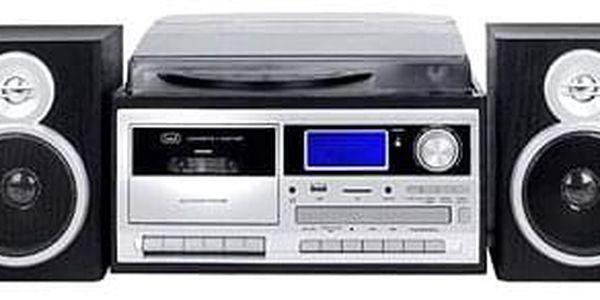 Radiomagnetofon a CD přehrávač Trevi TT 1070 E/BK