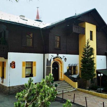 Pobyt v hotelu v Liberci s výhledem na Ještěd