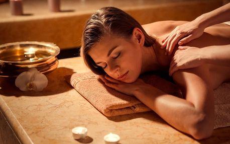Shirobhjang masáž hlavy, zad a šíje v délce 75 minut