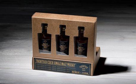 Domácí degustace single malt whisky TREBITSCH - Porto, Nikaragua Rum a Cognac